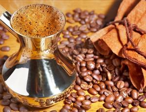 Турка с кофе