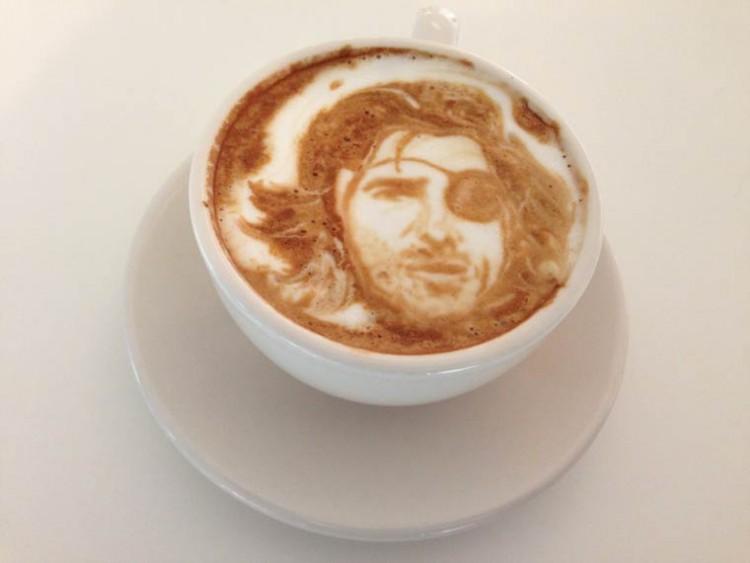 Портрет на кофе