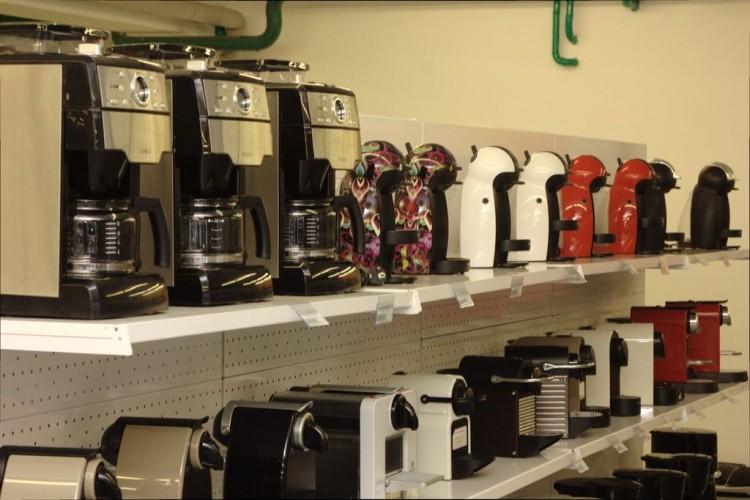 Много кофеварок