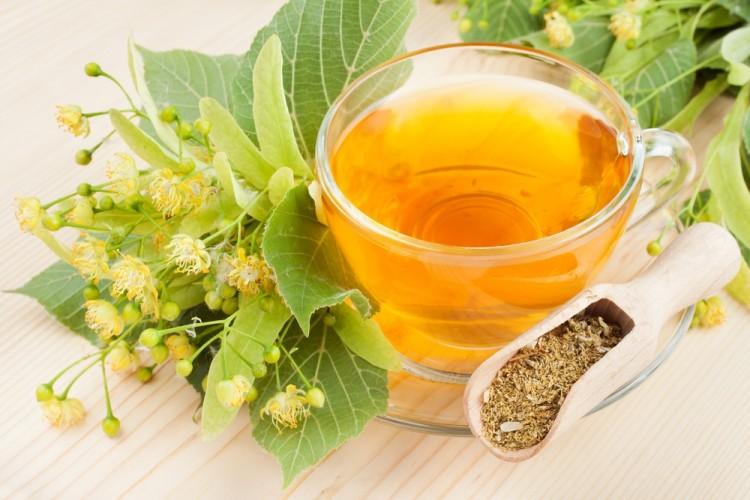 Чай из цветков липы