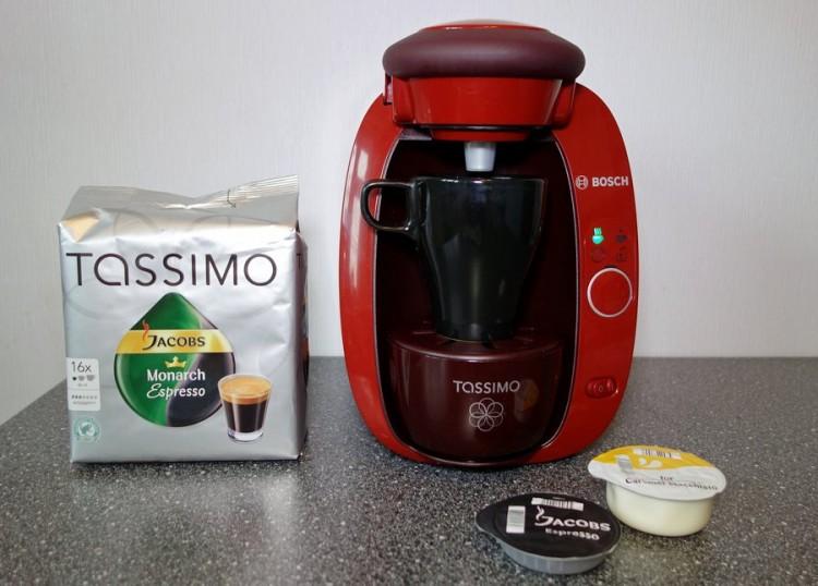 Капсульный кофе Тасимо