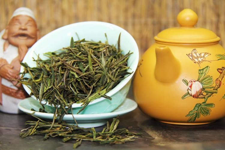 Сухой зеленый чай