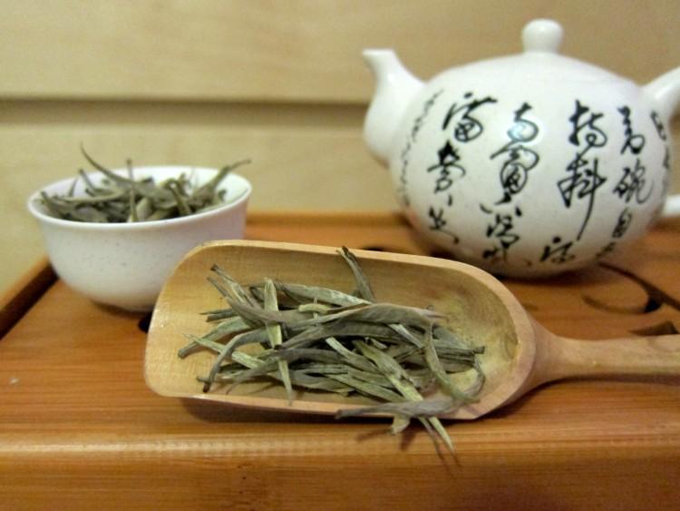 Один из видов желтого чая