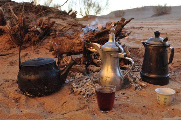 Египетский чай приготовление