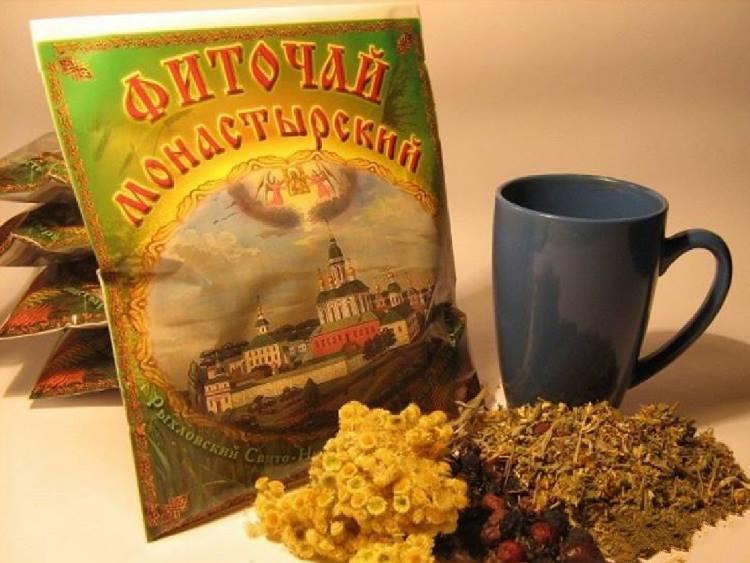 Сбор Монастырский чай