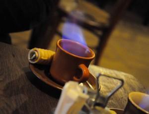 Горящий кофе по-армянски