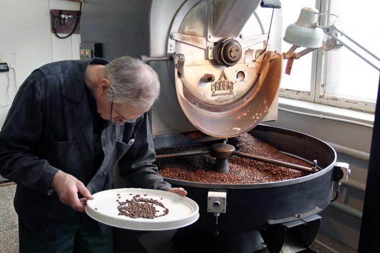 Контроль обжарки кофе