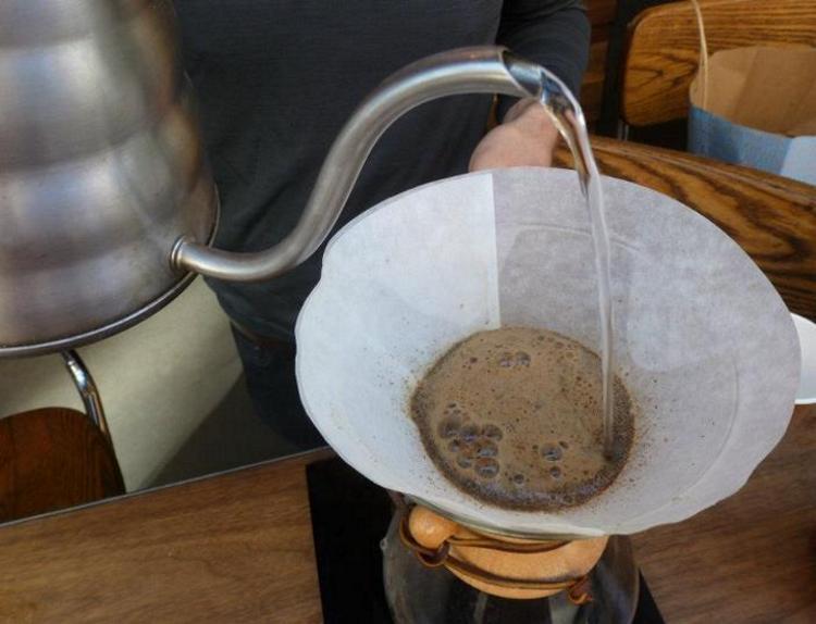 Бумажный фильтр для кофе