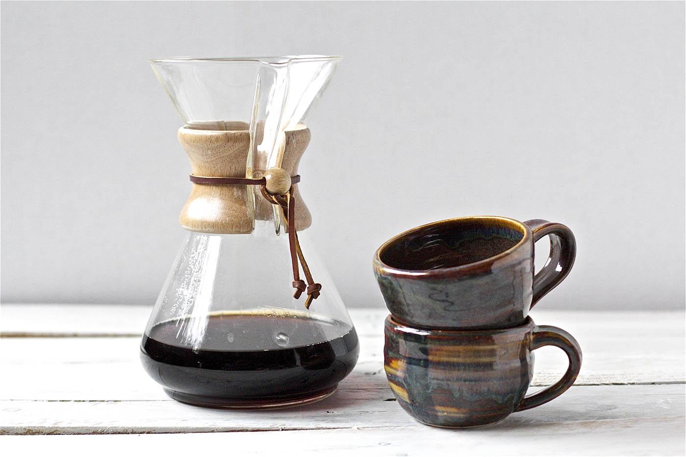 Кемекс и чашки