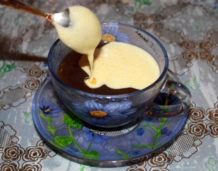 Кофе с желтком