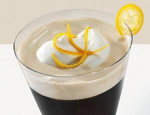 Кофе с персиками и имбирем