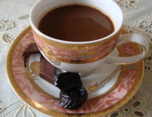 Кофе с черносливом