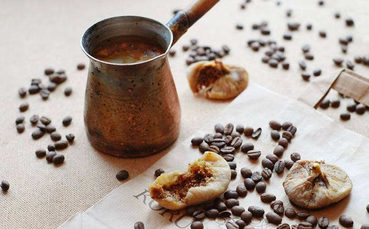 Кофе с инжиром