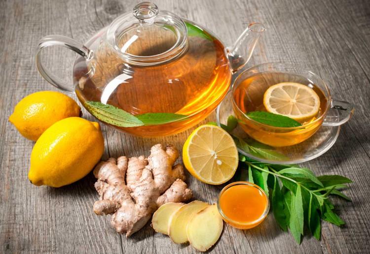 чай имбирем польза похудения