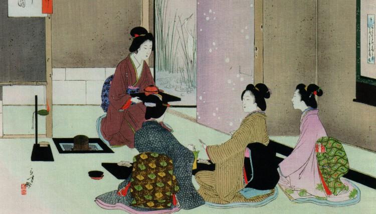 Японские традиции чаепития