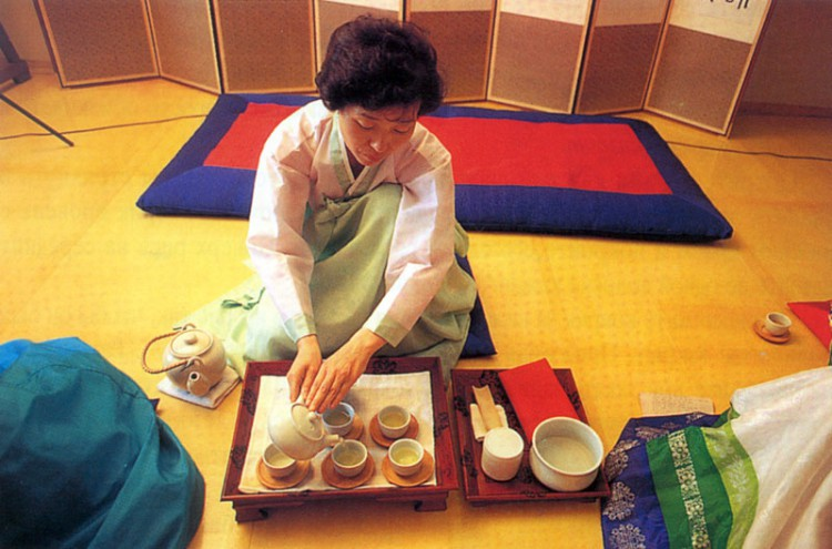 Чаепитие в Корее