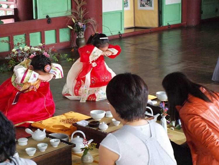 Одна из традиций в Корее