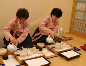 Корейская традиция чаепития
