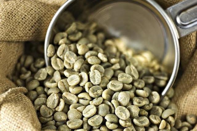 Зеленый кофе зерна