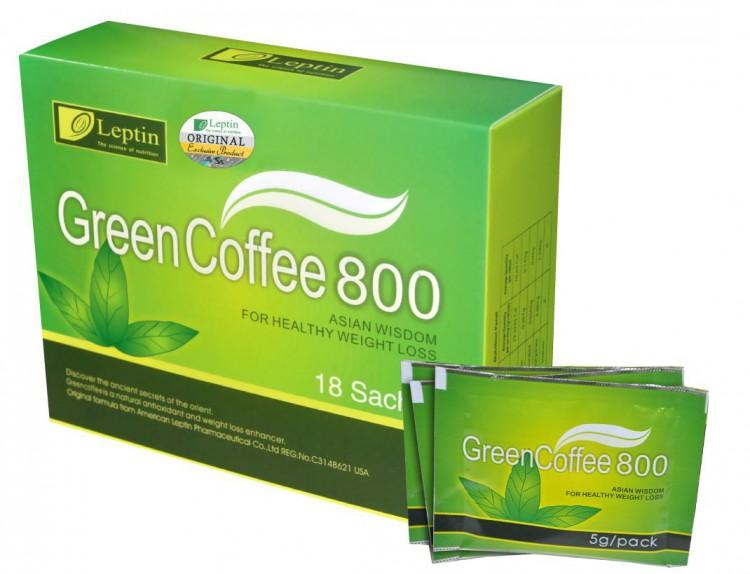 Зеленый кофе в пакетиках
