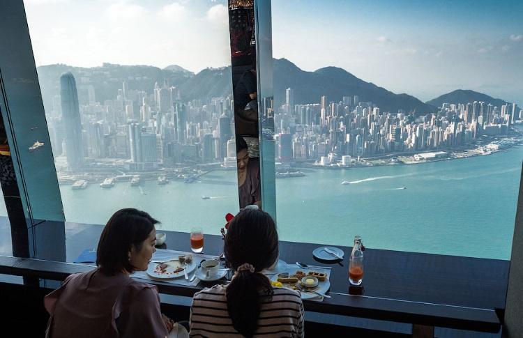 Отель Ritz Carlton в Гонконге