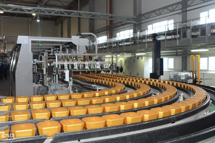 Производственная линия Nestle