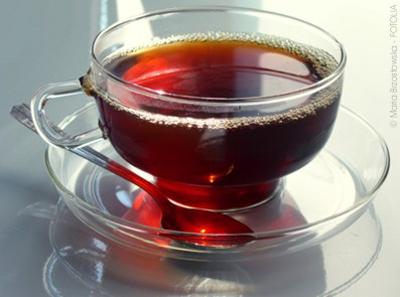 Черный заваренный чай