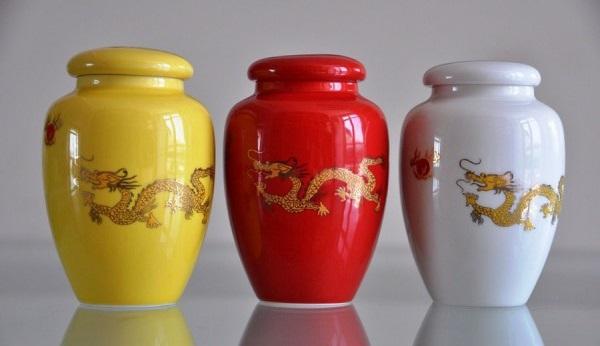 Баночки керамические для чая