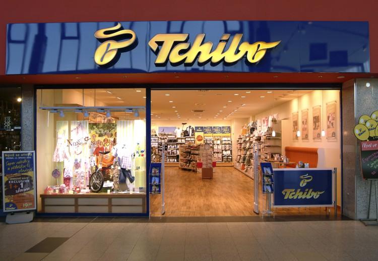 Магазин с продукцией Tchibo