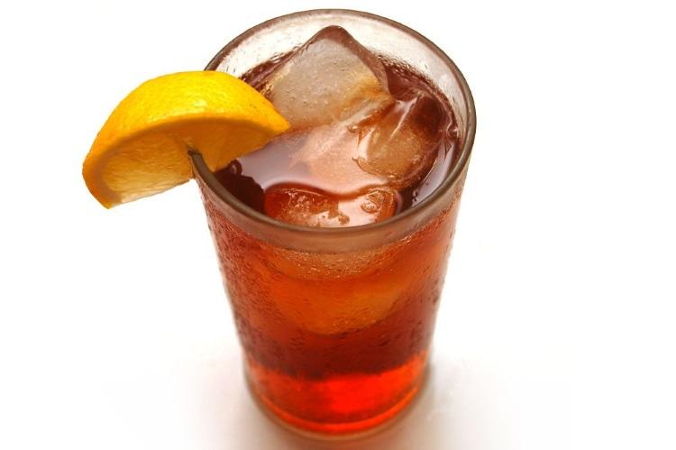 Коктейль с джином и чаем