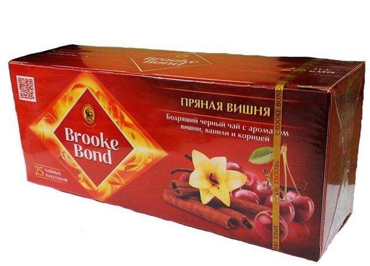 """Брук Бонд """"Пряная вишня"""""""