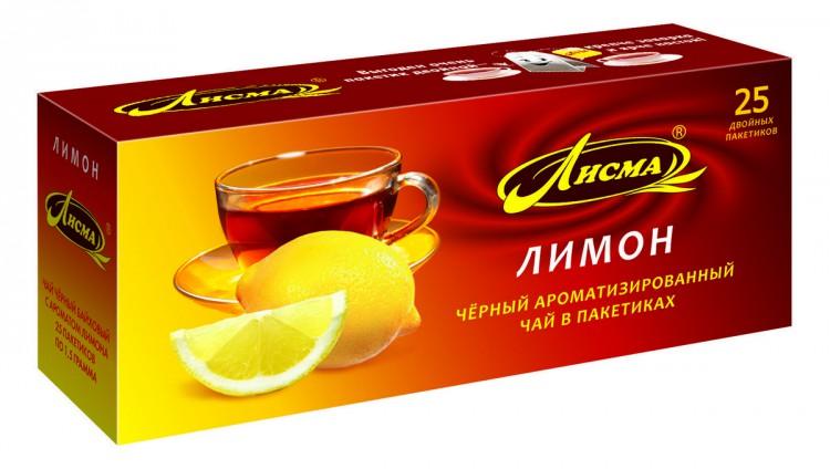 Чай Лисма с ароматом лимона
