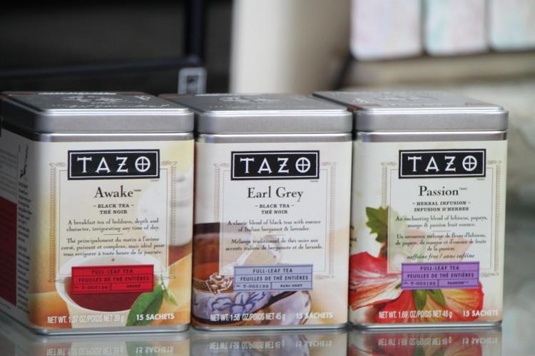 Чай «Tazo»
