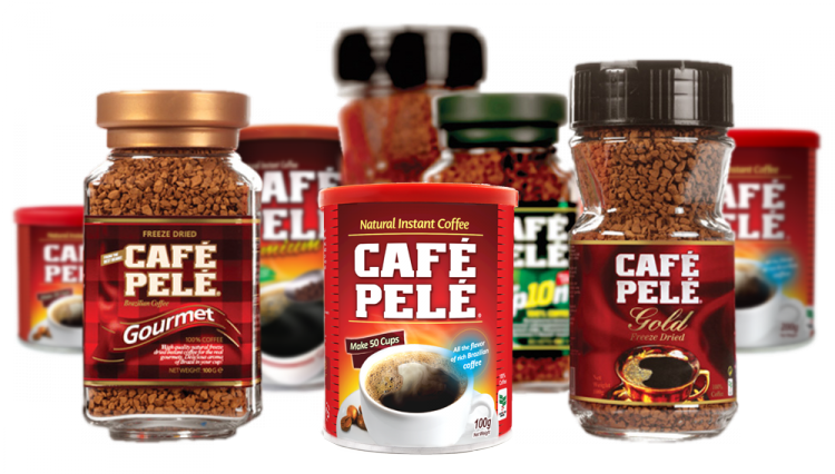 Ассортимент кофе Пеле