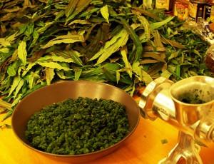 Скручивание иван-чая