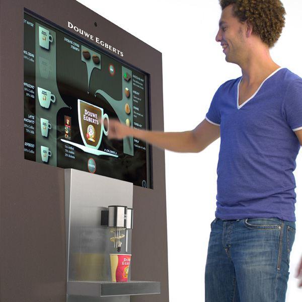 Интерактивный кофейный аппарат BeMoved