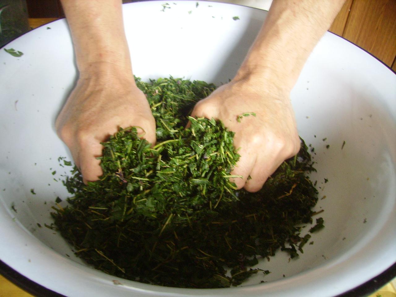 Подготовка к ферментации
