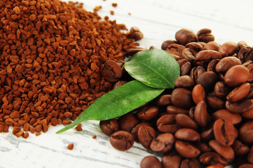 Растворимый и зерновой кофе