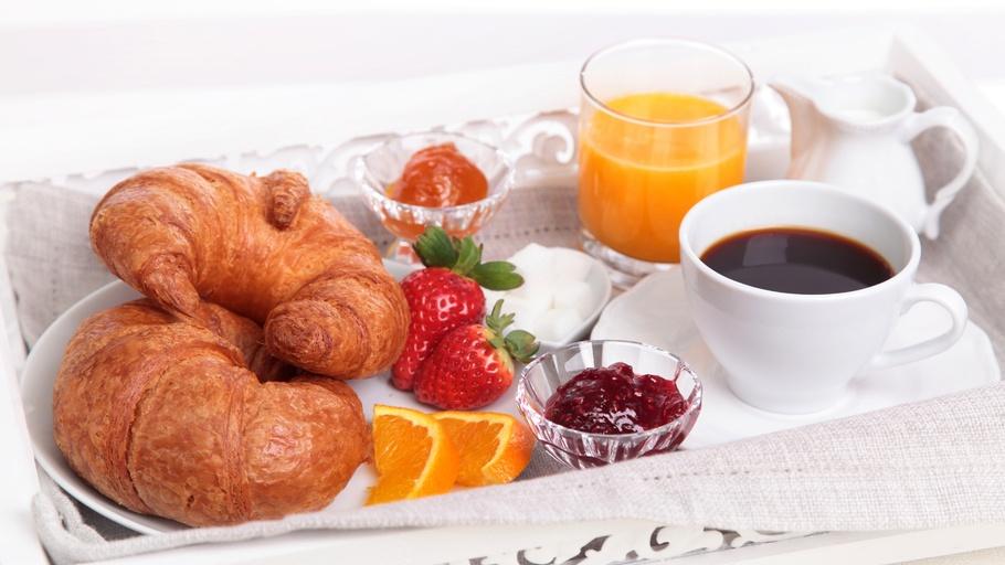 Завтрак и кофе