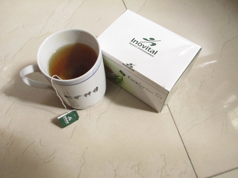 Эвкалиптовый чай в пакетиках