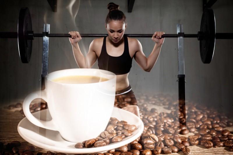 Кофе и тренировка
