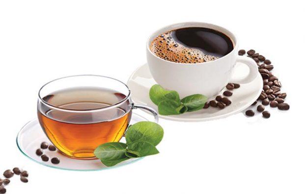 сколько действует кофеин в чае