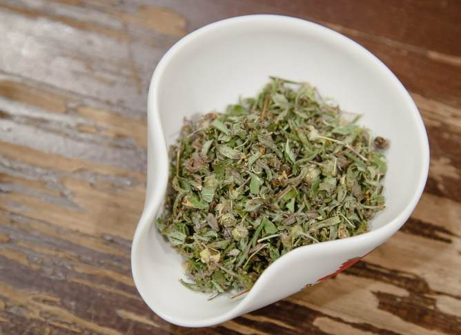 Курильский чай сухой