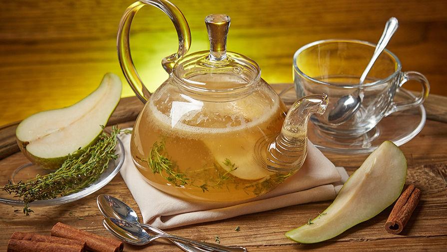 Грушево-лаймовый чай