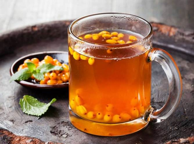 Как правильно заварить облепиховый чай