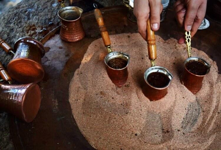 Песок и кофе