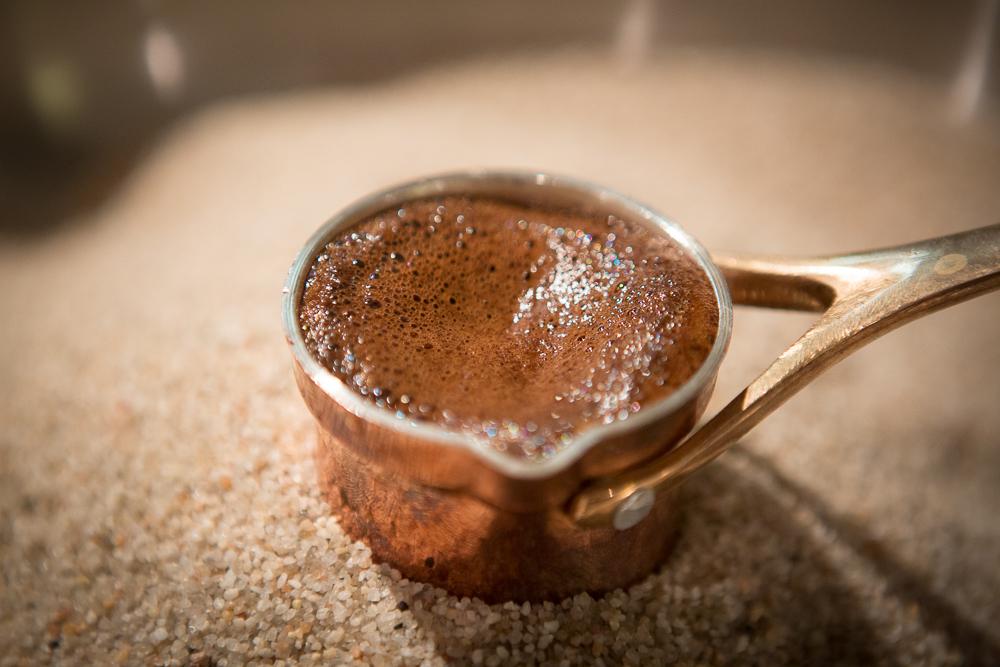 Кофе в песке