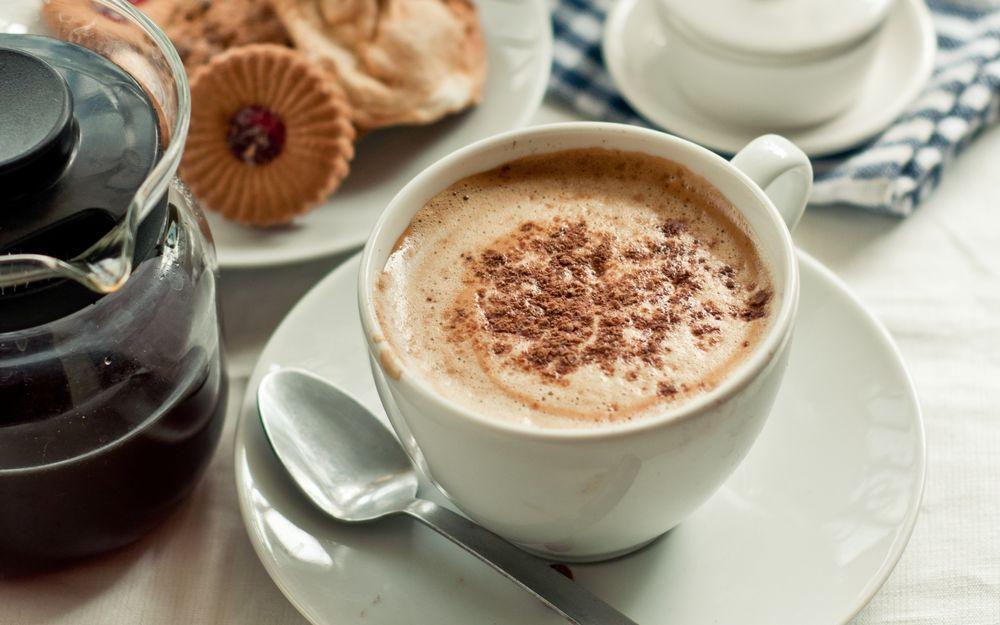Кофе с добавлением корицы