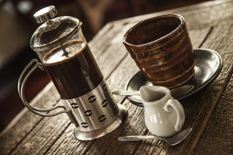 Кофе из пресса
