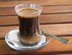 Коктейль кофе с колой